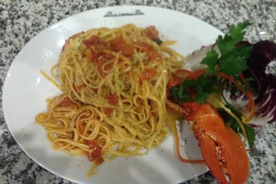 Linguine all'astice - Ristorante Pizzeria Le Capannelle